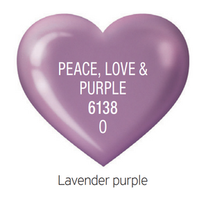Cuccio MatchMakers PEACE, LOVE & PURPLE #6138