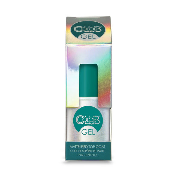 Color Club Gel Matte-IFIED Matte Finish Top Coat .5 fl oz Bottle