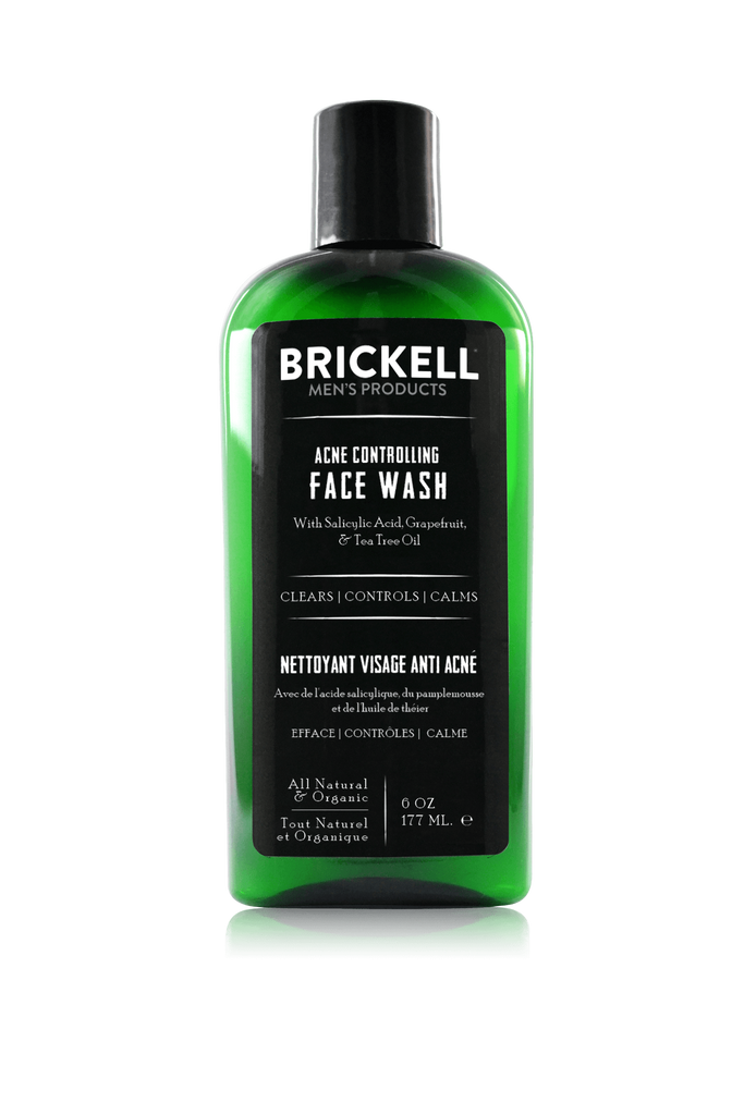The best natural acne face wash for men containing salicylic acid