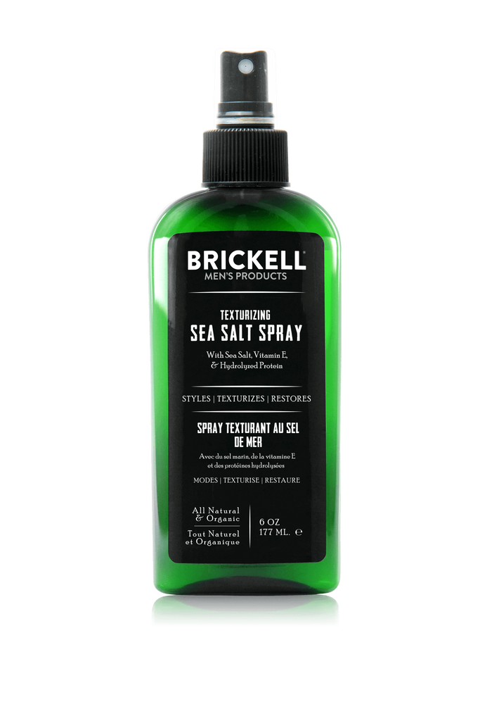 Best Texturizing Sea Salt Spray for Men's Hair Brickell Men's Products