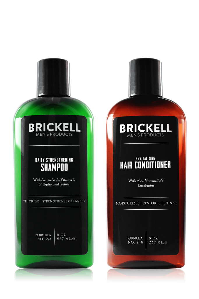 Daily Revitalizing Men's Hair Care Routine