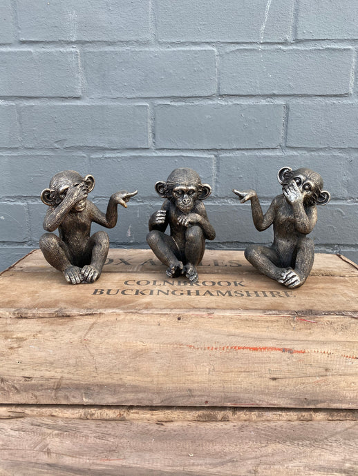 Set of 3 Monkeys