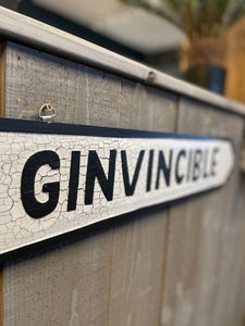 GINVINCIBLE Sign 🍸