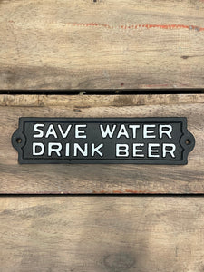 Save Water Drink Beer 💧 🍺