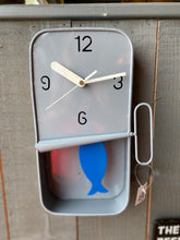 Grey Sardine Tin Clock🐟