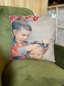 'First Cut' Cushion