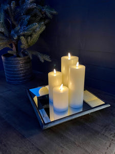 Luxe Candle in Cream 3' x 6'