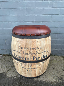 Laurent-Perrier Barrel Stool