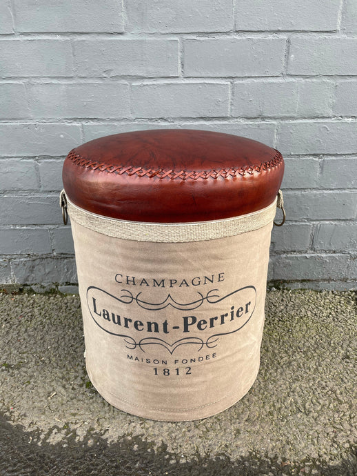 Laurent-Perrier Canvas Stool
