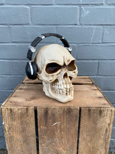 Skull with Headphones 🎧