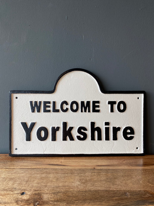 Welcome to Yorkshire Sign