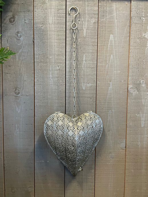 Moroccan Heart Candle Holder