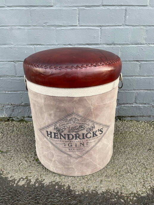 Hendricks Canvas Stool
