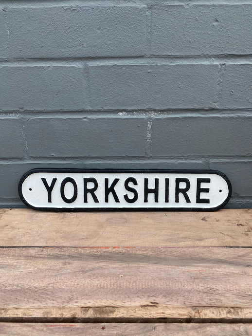 Yorkshire Plaque