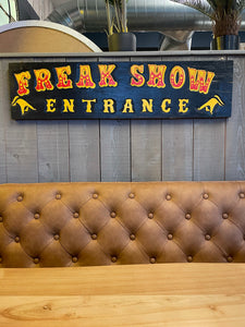 Freak Show Entrance - Black