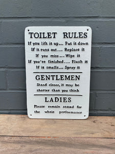 Toilet Rules 🚽