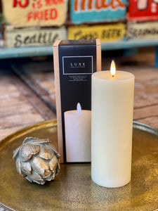 Luxe Candle in Cream 3' x 8'