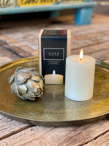 Luxe Candle in Cream 3' x 4'