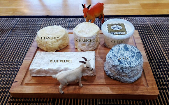 Carmelis Goat Cheeses (British Columbia)