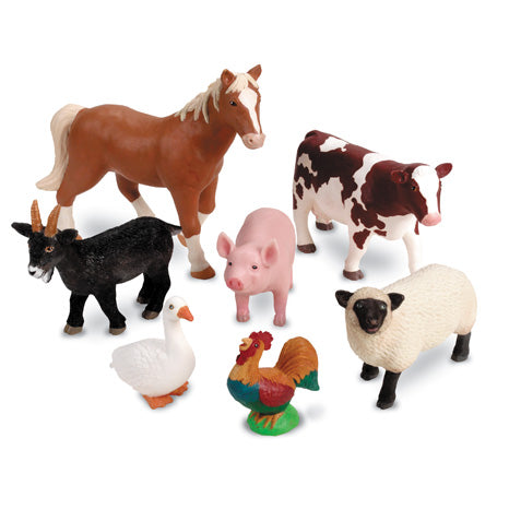 [Unboxing] Animale de la ferma - set educativ figurine mari