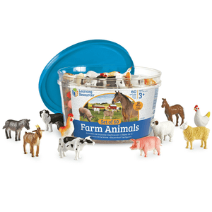 Set 60 Figurine - Animale de la ferma - Learning Resources