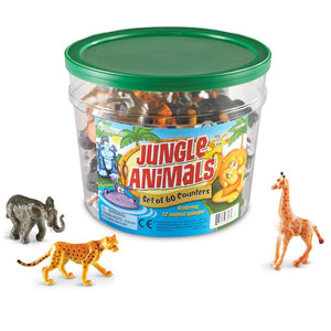 Animalele Junglei - Learning Resources - Set 60 Figurine
