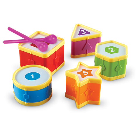 Tobe educative - Learning Drums - Set sortare si numarat