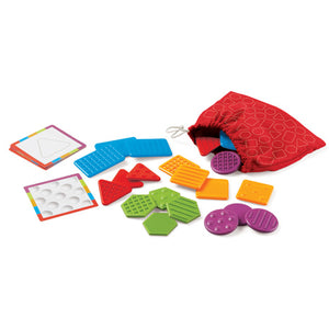 Placute texturate - Set educativ Tac-Tiles