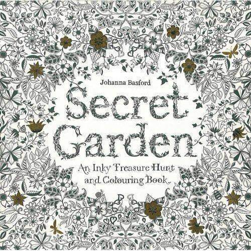 Adult coloring Books : SECRET GARDEN :Relieve stress Color Book New Co