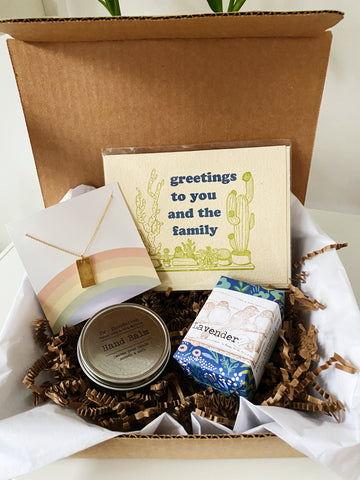 Greetings to You and the Family Gift Box