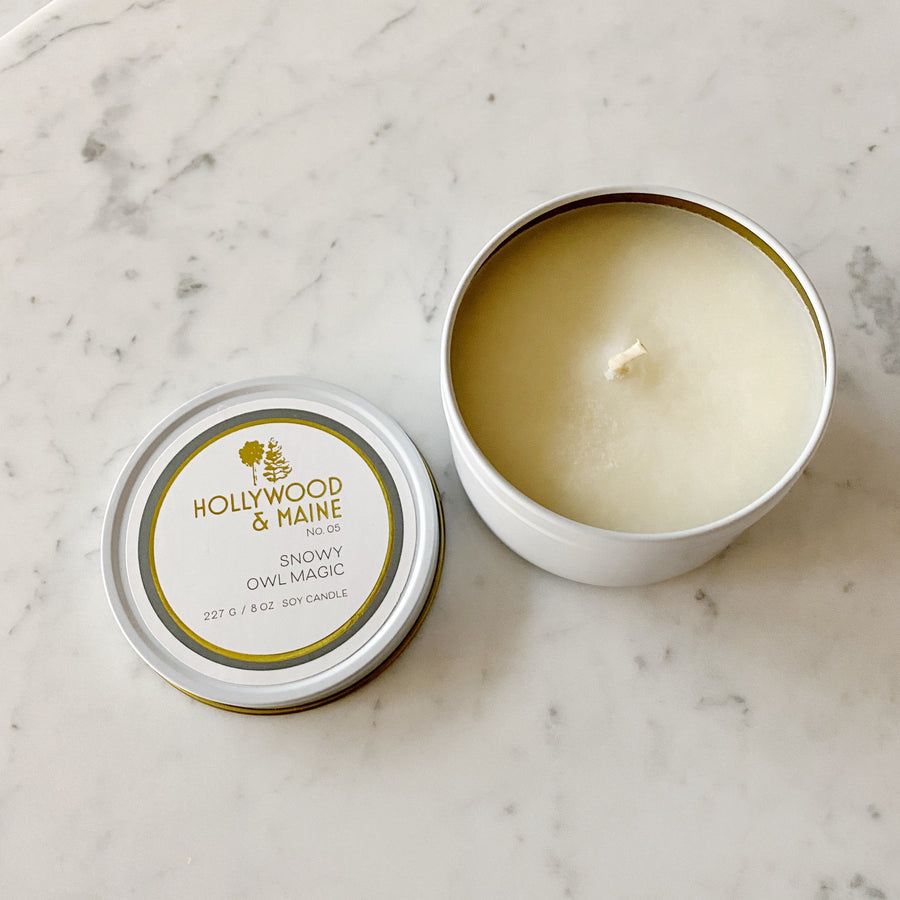 Hollywood & Maine 8oz Candle