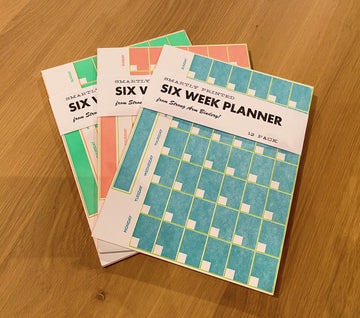 Six Week Planner - Green