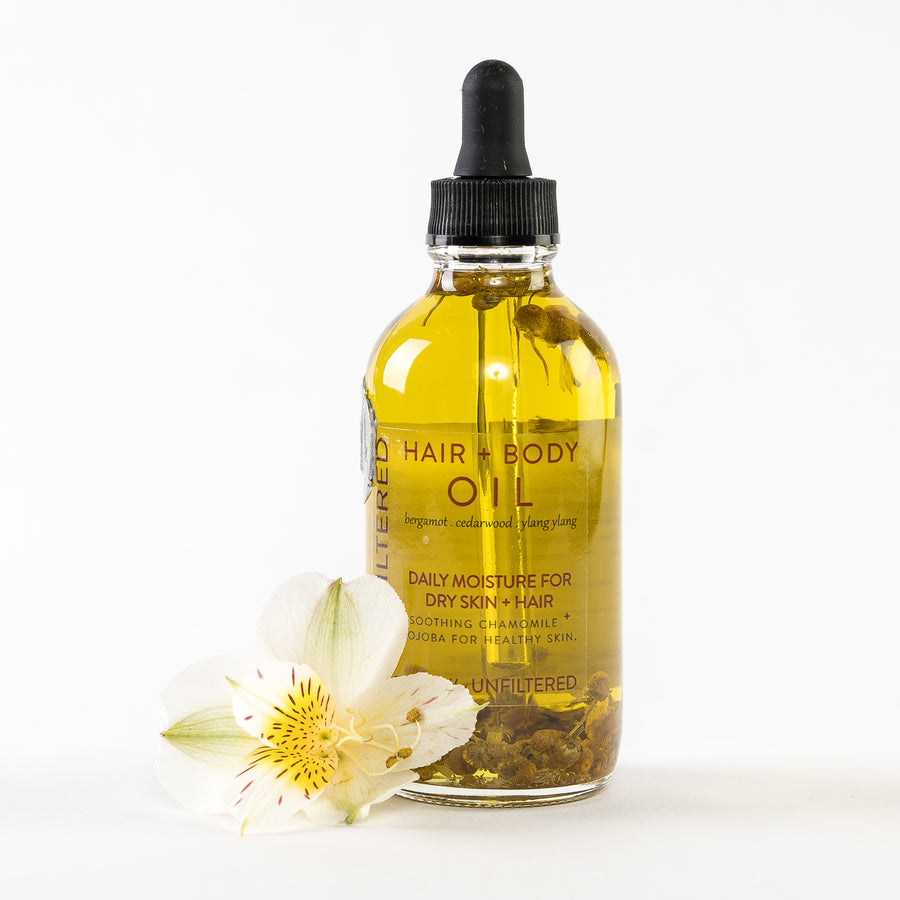 hair and body oil daily moisturizer