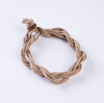 Vintage French Waxed Hemp Bracelets