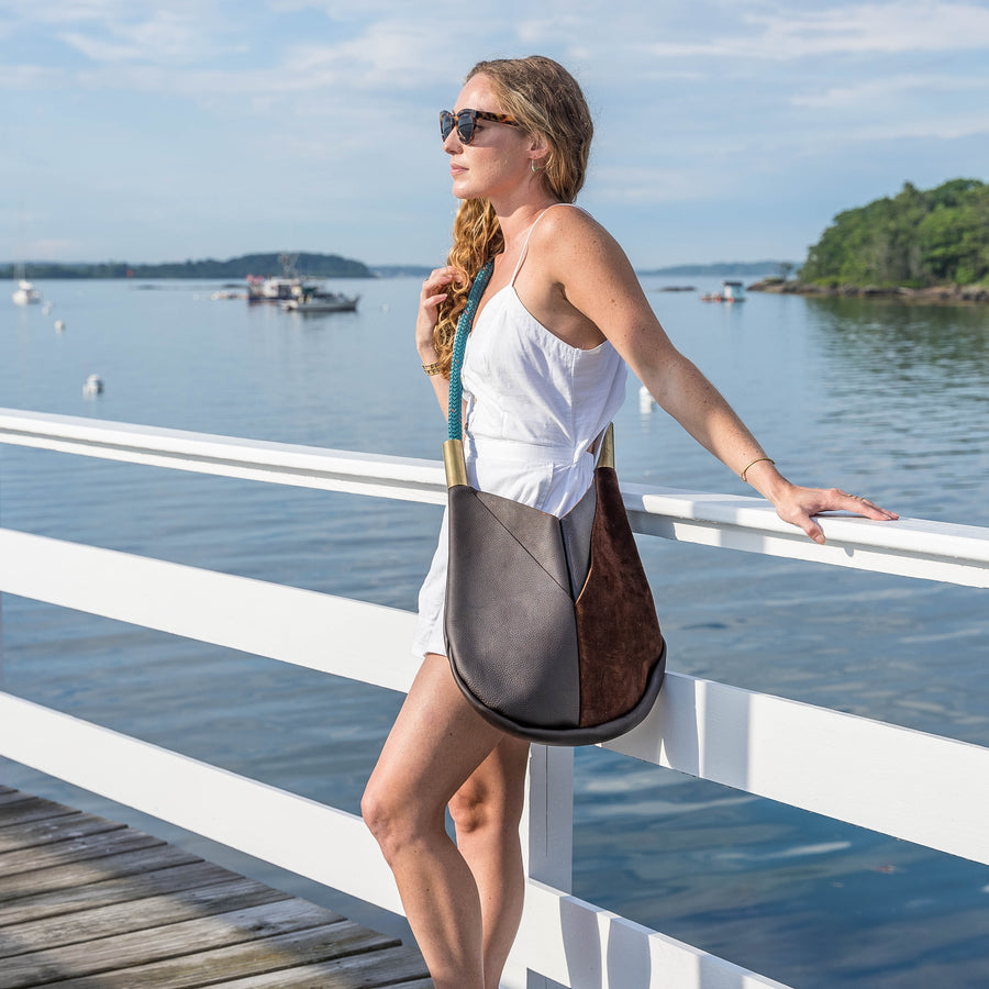 Wildwood Oyster Co. Leather Crossbody