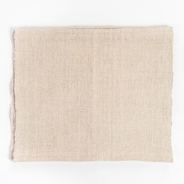 vintage french linen placemats - repurposed item - found in street markets in France - kitchen - home goods