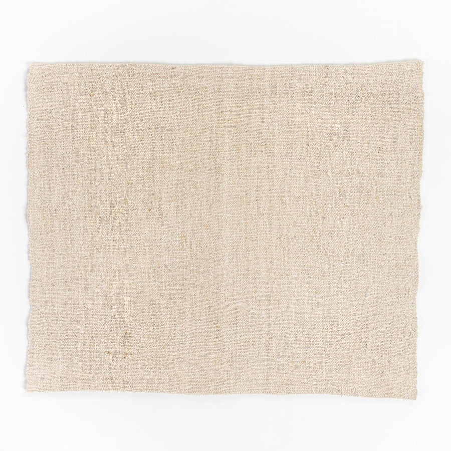 placemats - vintage french linen - sourced from france