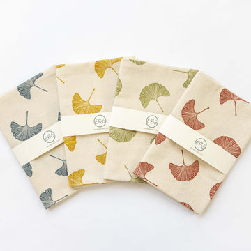 Ginkgo Leaf Tea Towels