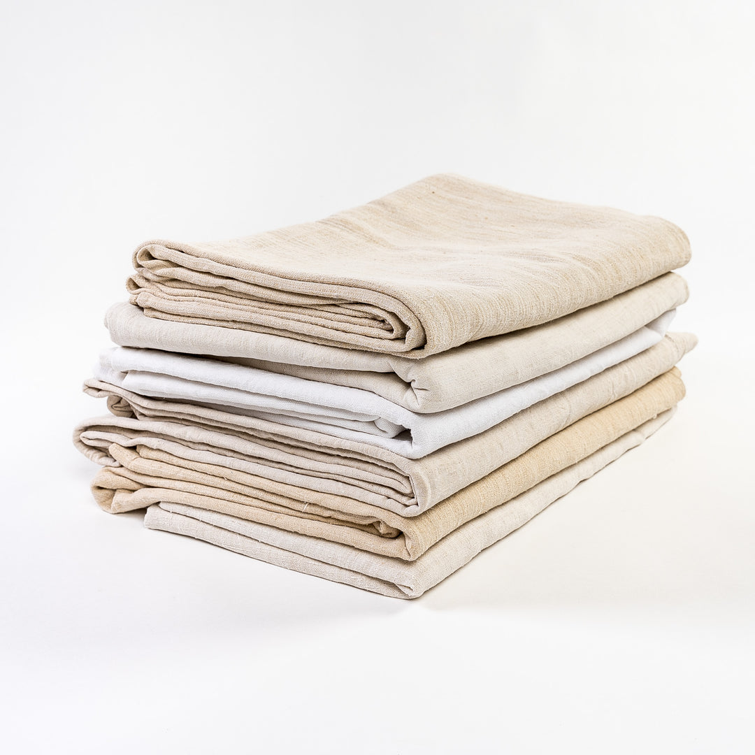 19th Century Vintage French Linen Sheets