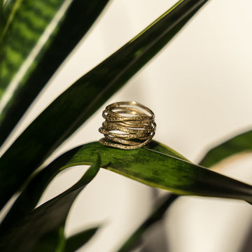 Brass Wrap Ring