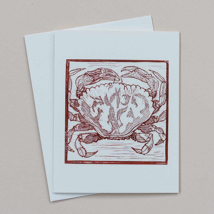 Linocut Greeting Cards