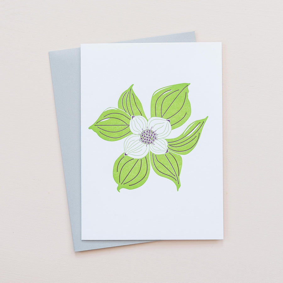 Bunchberry Greeting Card