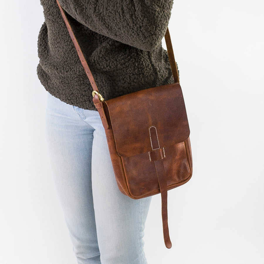 Chelsea Leather Cross-Body Bag
