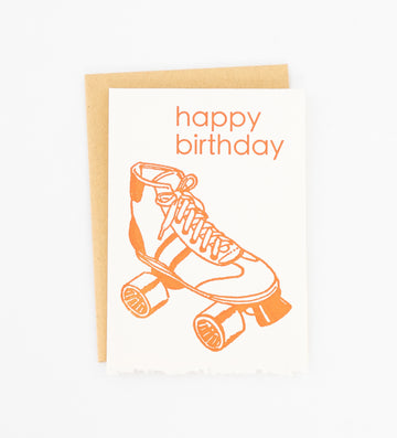 Happy Birthday roller skate