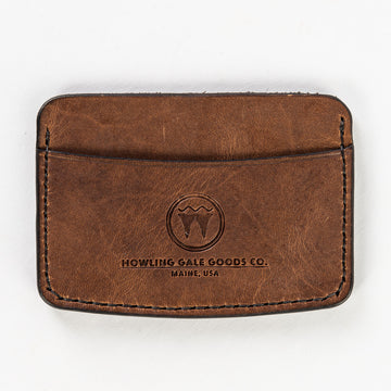 Starboard Side Wallet™ is handmade from Maine sourced leather and beeswax