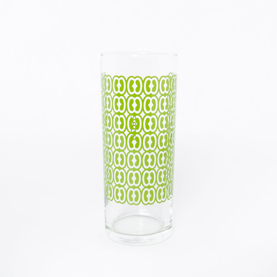 Hope glass in green - traditional symbols - home goods