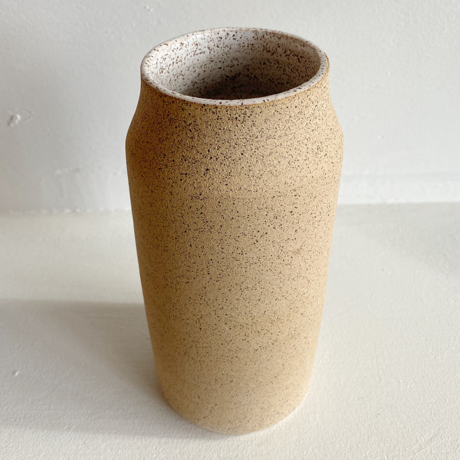 Speckled Ceramic Vase