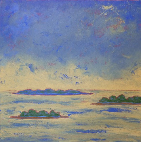 Marcia Crumley - 'Islands in the Bay'