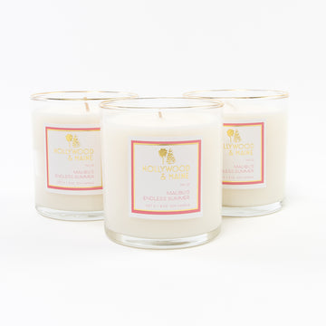 Malibu's endless summer soy candles