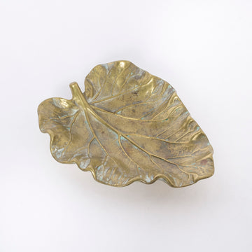 Bronze Leaf Dish - large